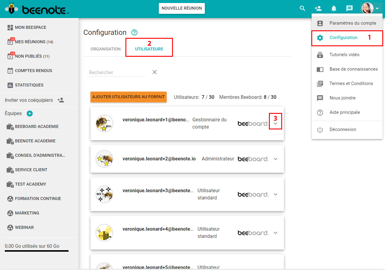 Beenote-Admin-Parametres-Roles-et-droits-liste-utilisateurs