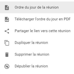 Beenote-menu-registre-compte-rendu-plus-dactions
