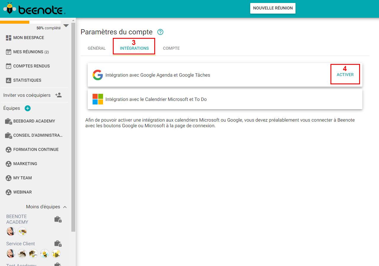Beenote-integrations-agenda-google-Integration-3-4-FR