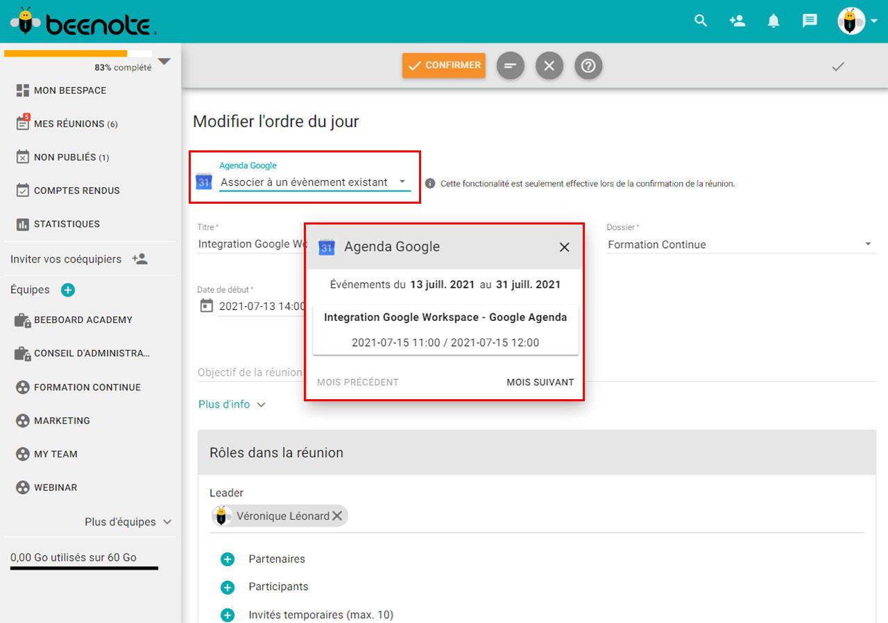 Beenote-integrations-agenda-googlel-lier-beenote-FR