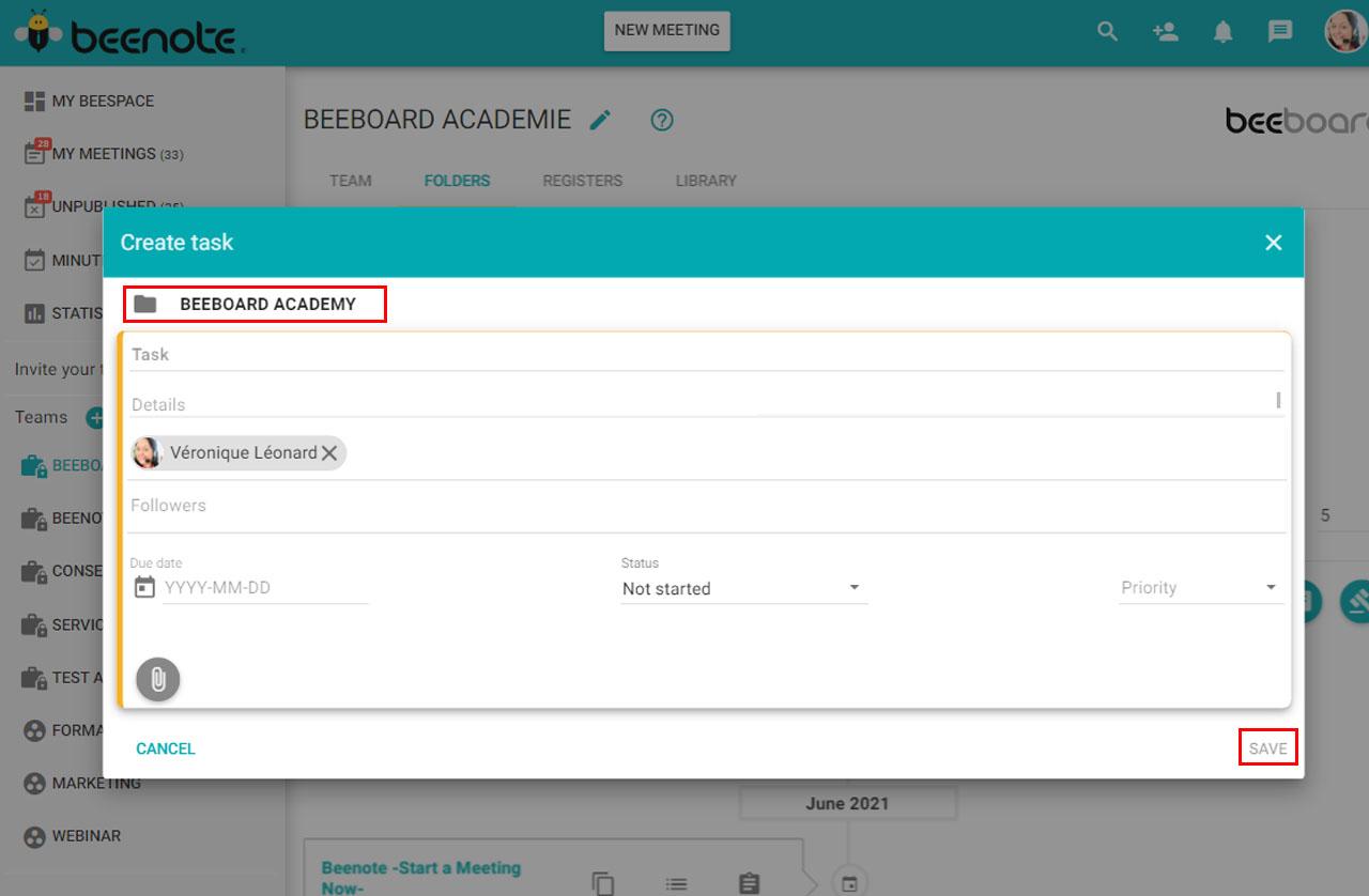 Beenote-Folder-Management-assigned-tasks-by-folder